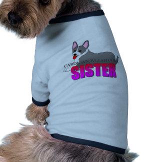 Cardigan Welsh Corgi Dog Sister Doggie T-shirt