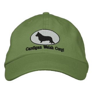 Cardigan Welsh Corgi Embroidered Hat