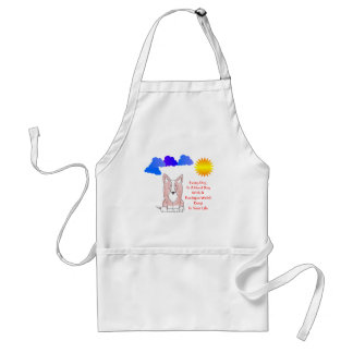 Cardigan Welsh Corgi Fawn Every Day Is A Good Day Adult Apron