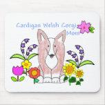 Cardigan Welsh Corgi Fawn Mom Mousepad