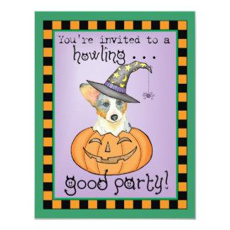Cardigan Welsh Corgi Halloween Card