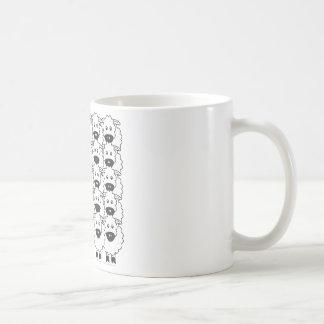 Cardigan Welsh Corgi in the Sheep Classic White Coffee Mug