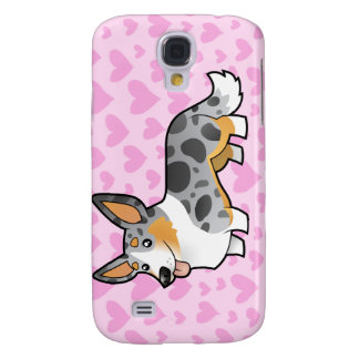 Cardigan Welsh Corgi Love (add your own pern) Samsung S4 Case