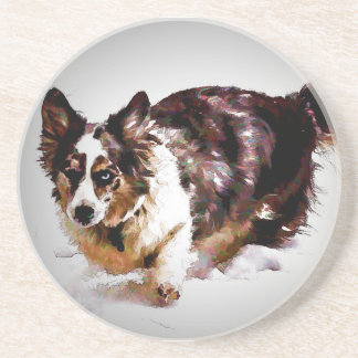 Cardigan Welsh Corgi - Maggie Coaster