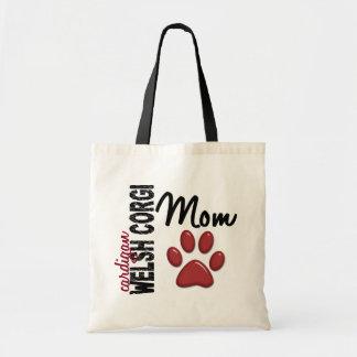 Cardigan Welsh Corgi Mom 2 Tote Bag
