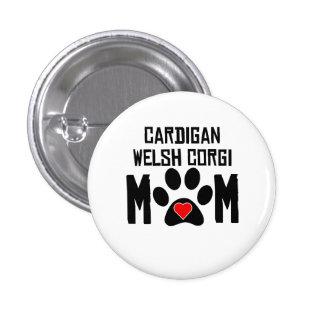 Cardigan Welsh Corgi Mom Buttons