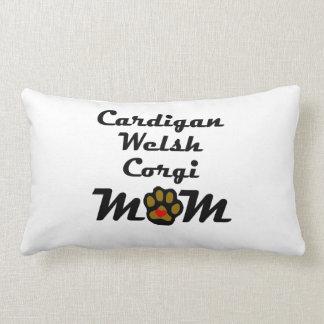 Cardigan Welsh Corgi Mom Throw Pillows
