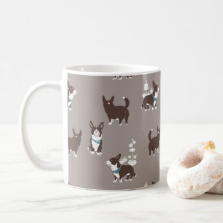 cardigan welsh corgi peduncle coffee mug