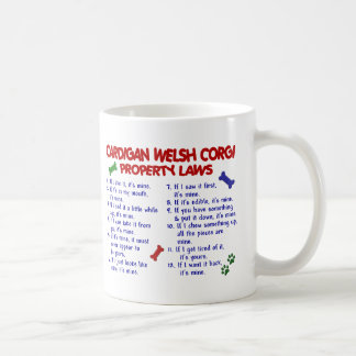 CARDIGAN WELSH CORGI Property Laws 2 Coffee Mug
