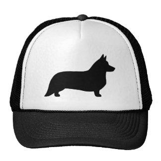 Cardigan Welsh Corgi Silhouette Trucker Hat