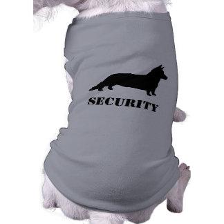 Cardigan Welsh Corgi Silhouette with Custom Text Doggie Shirt