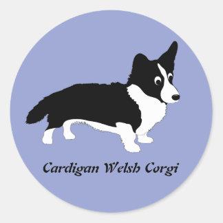 Cardigan Welsh Corgi Classic Round Sticker