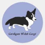 Cardigan Welsh Corgi Stickers