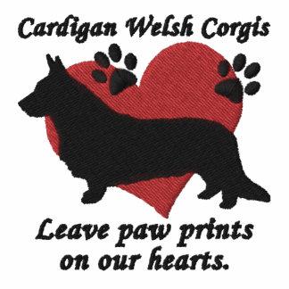 Cardigan Welsh Corgis Leave Paw Prints