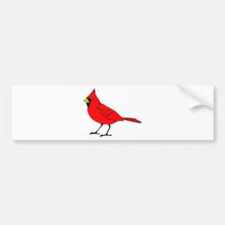 cardinal #2 bumper sticker