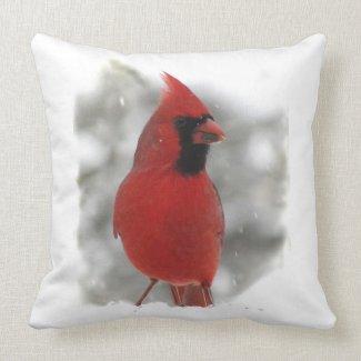 Cardinal throwpillow