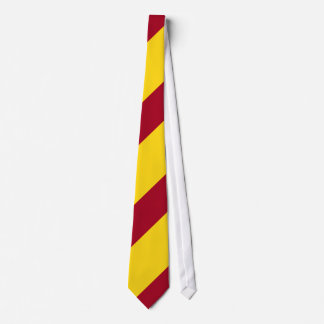 Cardinal and Gold Neck Tie