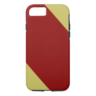 Cardinal and Gold Striped iPhone 7 Case