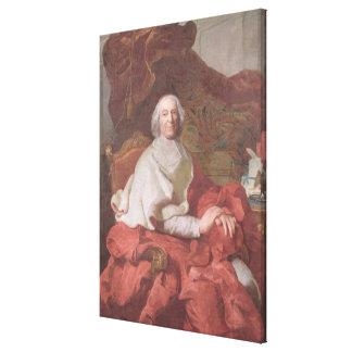 Cardinal Andre Hercule de Fleury Canvas Print