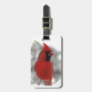 Cardinal Bag Tags