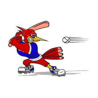 Cardinal baseball cutout