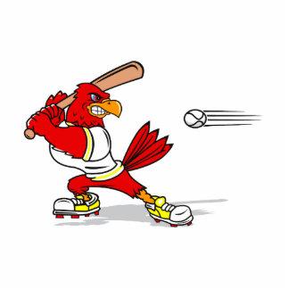 Cardinal Baseball Player Cutout