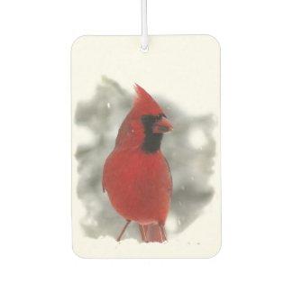 Cardinal Bird Air Freshener