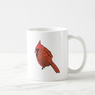 Cardinal bird art coffee mug