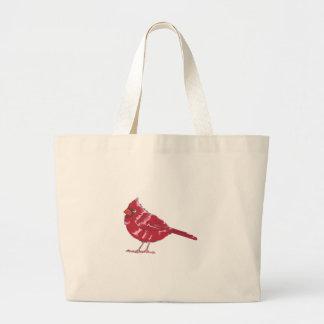 CARDINAL BIRD JUMBO TOTE BAG