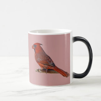 Cardinal Bird Magic Mug