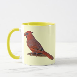 Cardinal Bird Mug