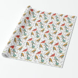 Cardinal Bird Wrapping Paper