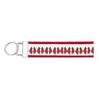 Cardinal Bird Wrist Keychains