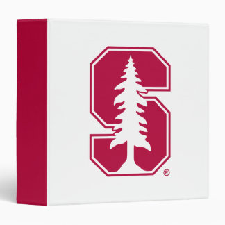 "Cardinal Block ""S"" with Tree 3 Ring Binder"