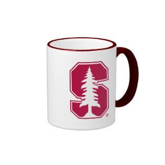 "Cardinal Block ""S"" with Tree 4 Ringer Coffee Mug"