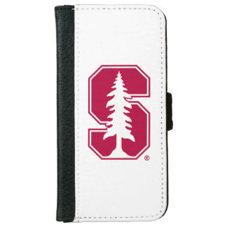 """Cardinal Block """"S"""" with Tree 4 iPhone 6 Wallet Case"""