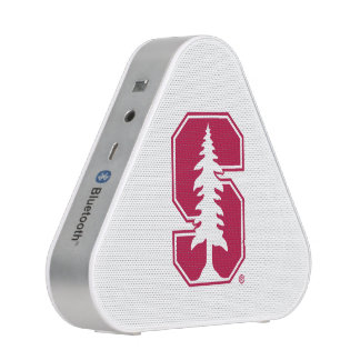 "Cardinal Block ""S"" with Tree Bluetooth Speaker"