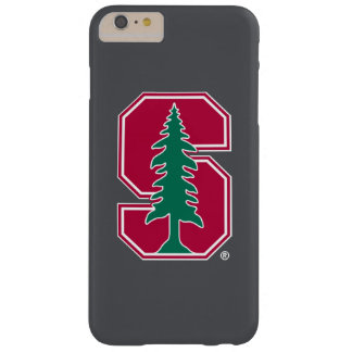 """Cardinal Block """"S"""" with Tree Barely There iPhone 6 Plus Case"""