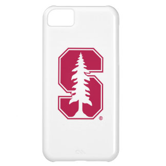 """Cardinal Block """"S"""" with Tree Case For iPhone 5C"""