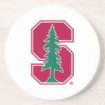 """Cardinal Block &quot;S&quot; with Tree Coaster<br><div class=""""desc"""">Check out these official Stanford University designs! Personalize your own Stanford merchandise on Zazzle.com! Click the Customize button to insert your own name, class year, or club to make a unique product. Try adding text using various fonts &amp; view a preview of your design! Zazzle&#39;s easy to customize products have...</div>"""
