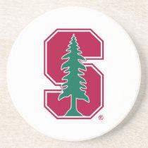 "Cardinal Block ""S"" with Tree Coaster"