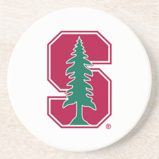 "Cardinal Block ""S"" with Tree Coaster"