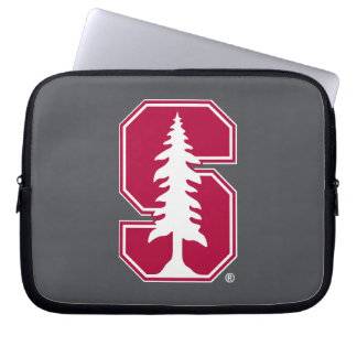 "Cardinal Block ""S"" with Tree Computer Sleeve"