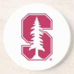 """Cardinal Block &quot;S&quot; with Tree Drink Coaster<br><div class=""""desc"""">Check out these official Stanford University designs! Personalize your own Stanford merchandise on Zazzle.com! Click the Customize button to insert your own name, class year, or club to make a unique product. Try adding text using various fonts &amp; view a preview of your design! Zazzle&#39;s easy to customize products have...</div>"""