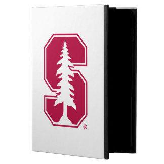 "Cardinal Block ""S"" with Tree iPad Air Cover"