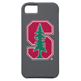"""Cardinal Block """"S"""" with Tree iPhone SE/5/5s Case"""