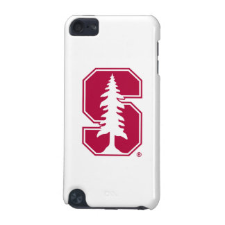 """Cardinal Block """"S"""" with Tree iPod Touch (5th Generation) Case"""