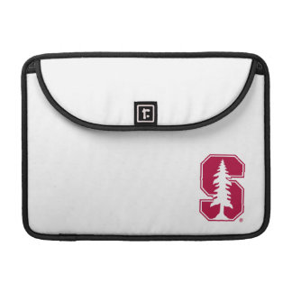 "Cardinal Block ""S"" with Tree MacBook Pro Sleeve"