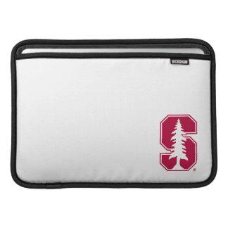 "Cardinal Block ""S"" with Tree MacBook Sleeve"