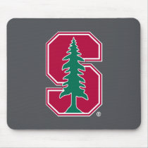 "Cardinal Block ""S"" with Tree Mouse Pad"